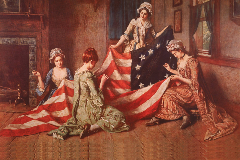The Birth of The Flag